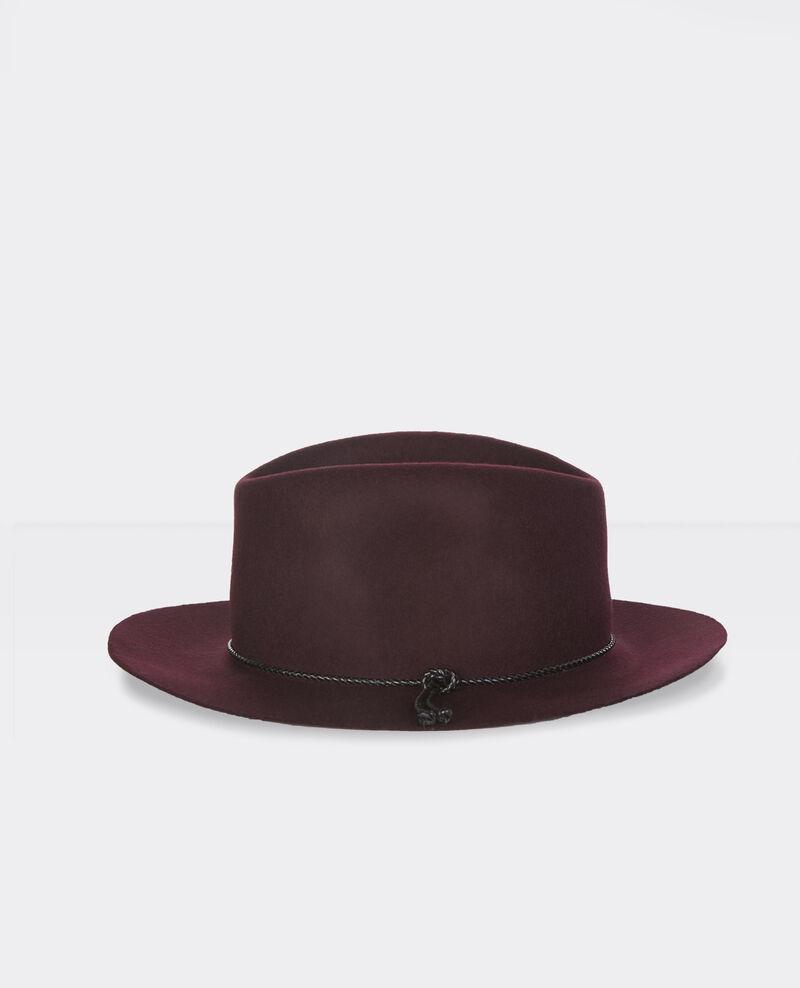 Chapeau en laine Maroon Banneret