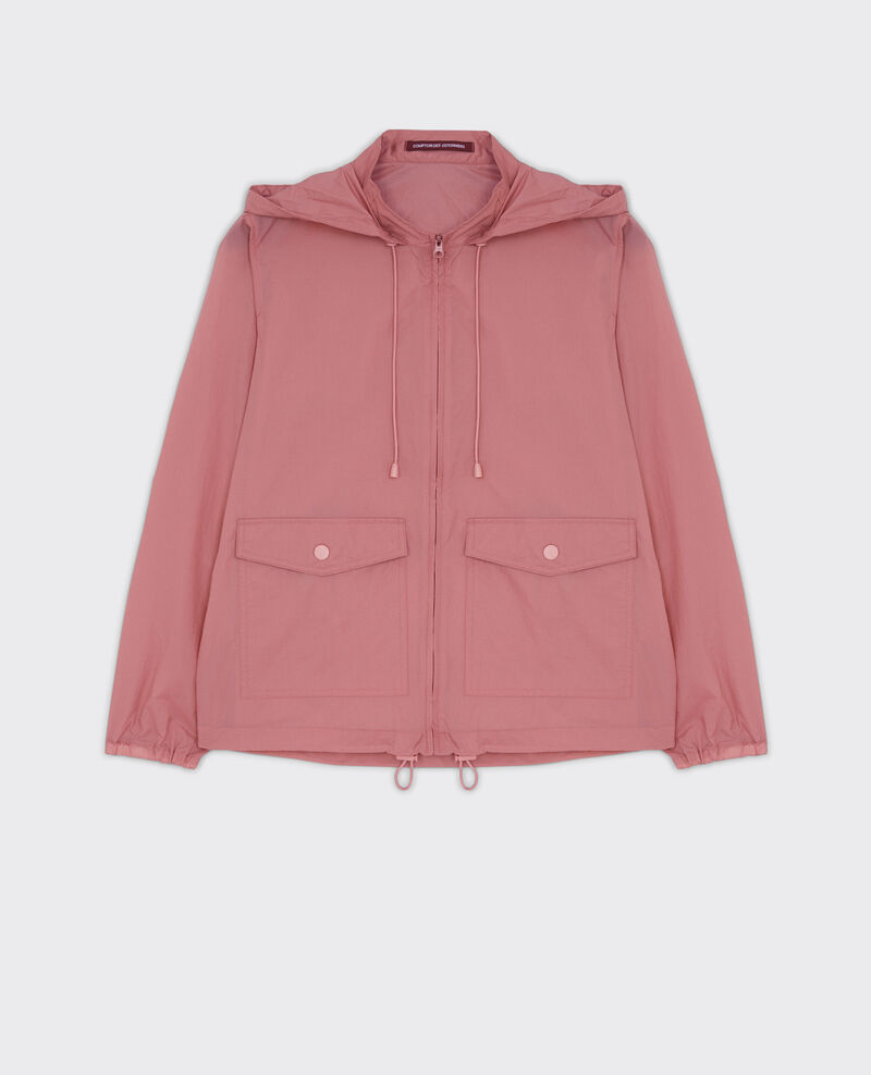 Windcheater parka  with hood Litchi Canot