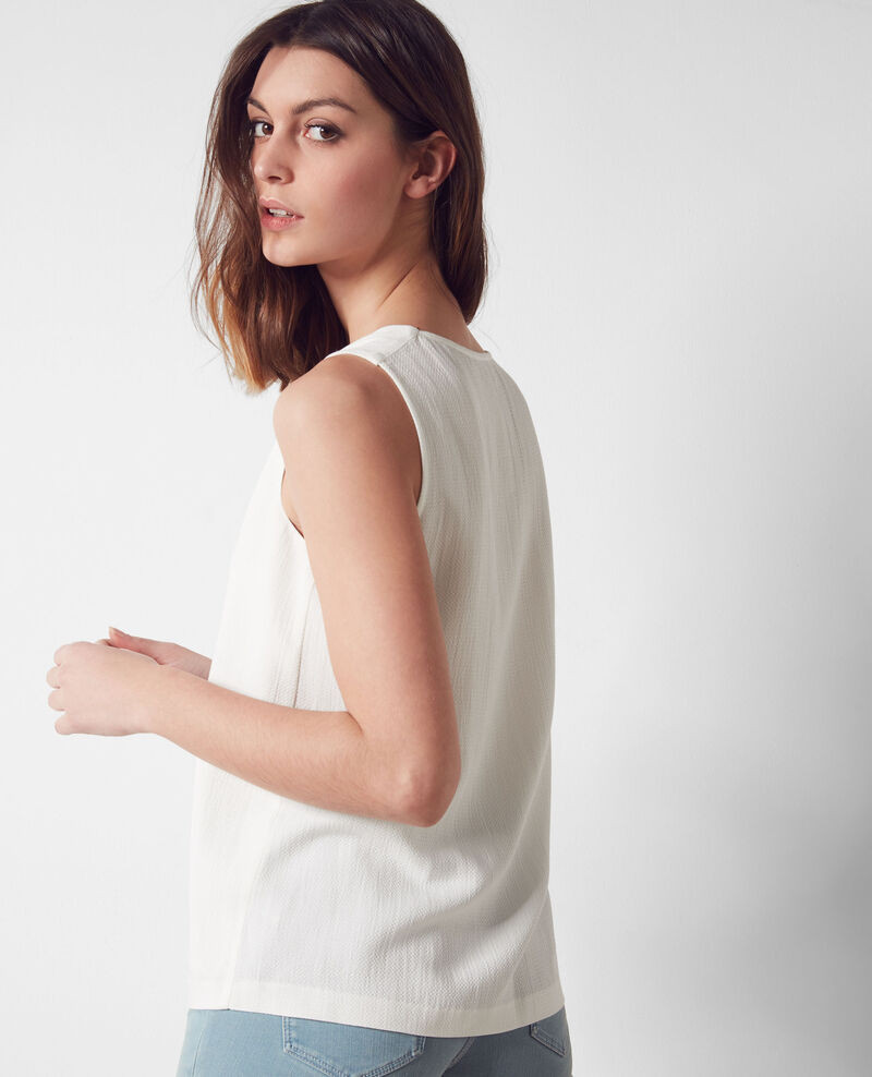 Loose top Off white Cecilia