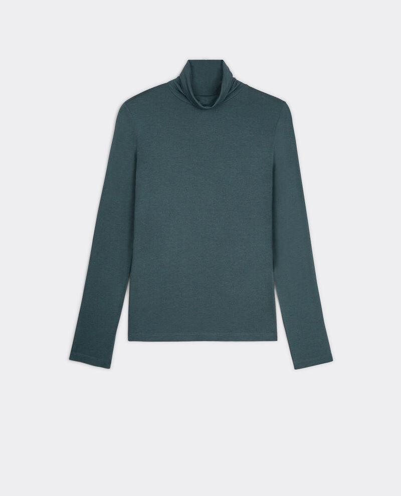Camiseta de cuello vuelto Bleu du soir Bellatre