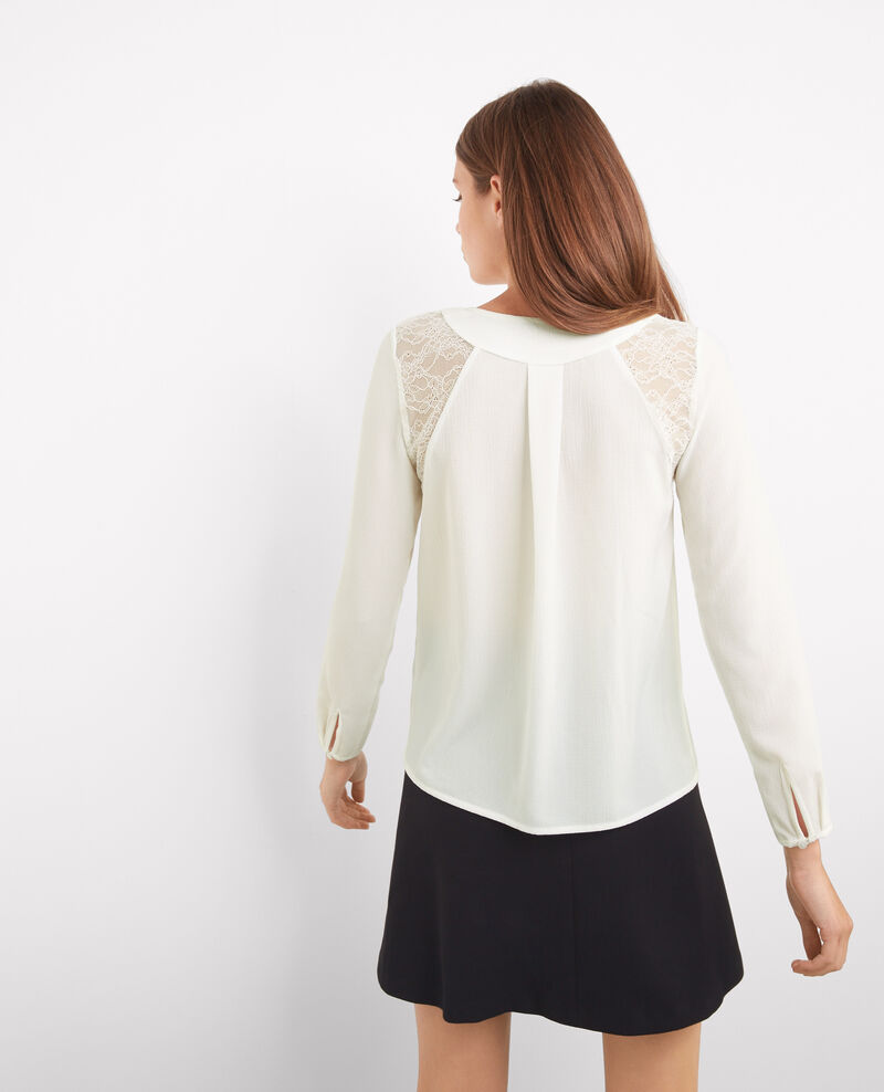 Blouse blanche intemporelle Off white Britney