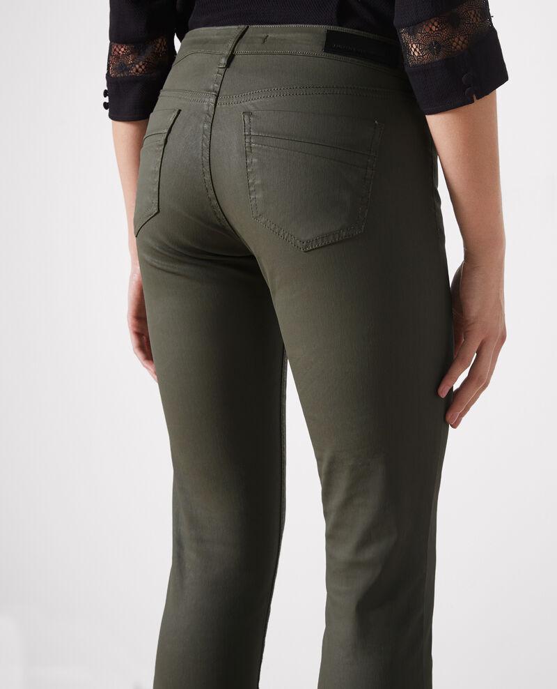 "Jeans slim resinados ""Ma demoiselle"" Army Crocodile"