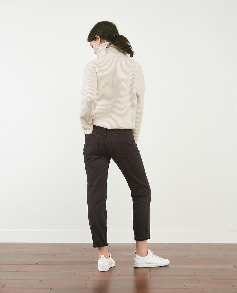 Jeans vintage Faded black Delois
