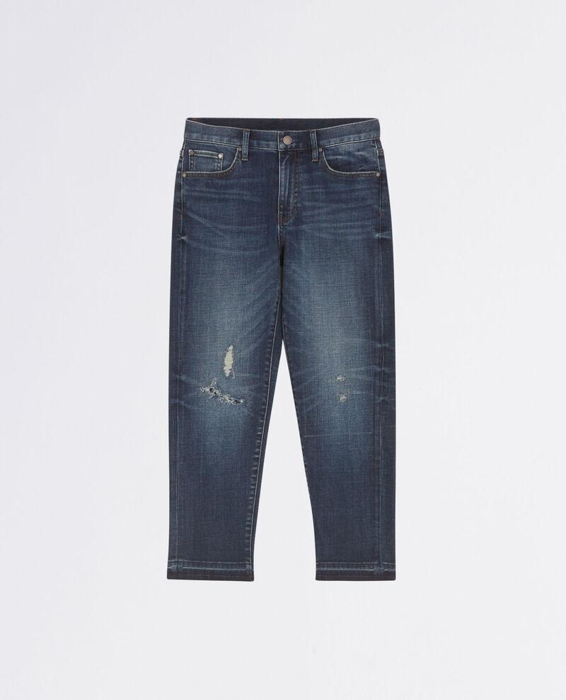Jeans boyfriend Dark blue Chiba