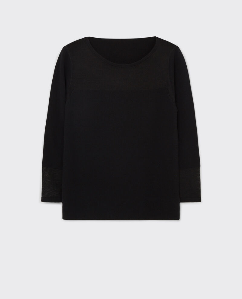 kleidung pullover strick woll pullover mit u boot ausschnitt. Black Bedroom Furniture Sets. Home Design Ideas