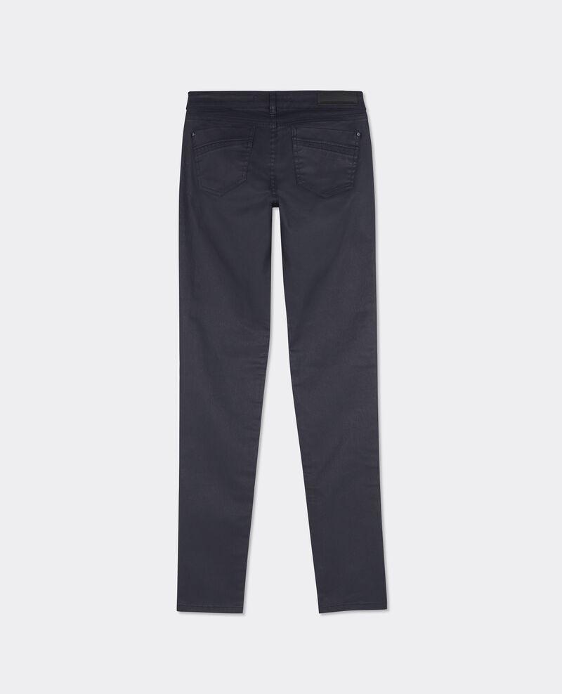 "Jeans skinny résiné ""Jolie-chérie"" Dark ocean Brindille"