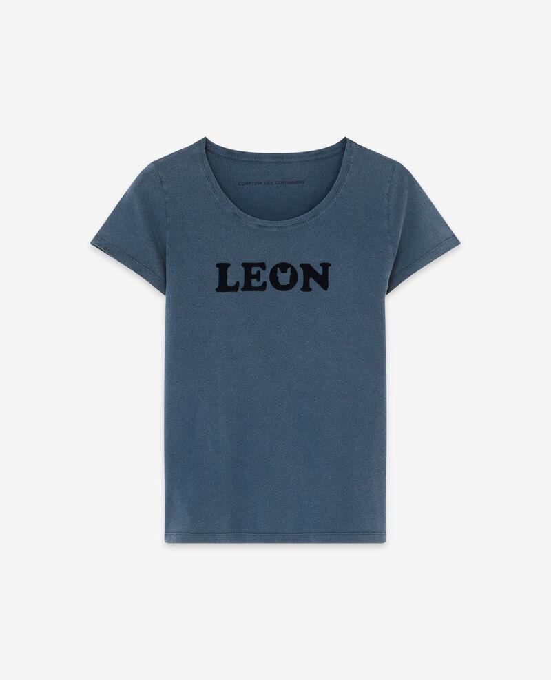 Camiseta con estampado Léon Ocean wash Daloupe