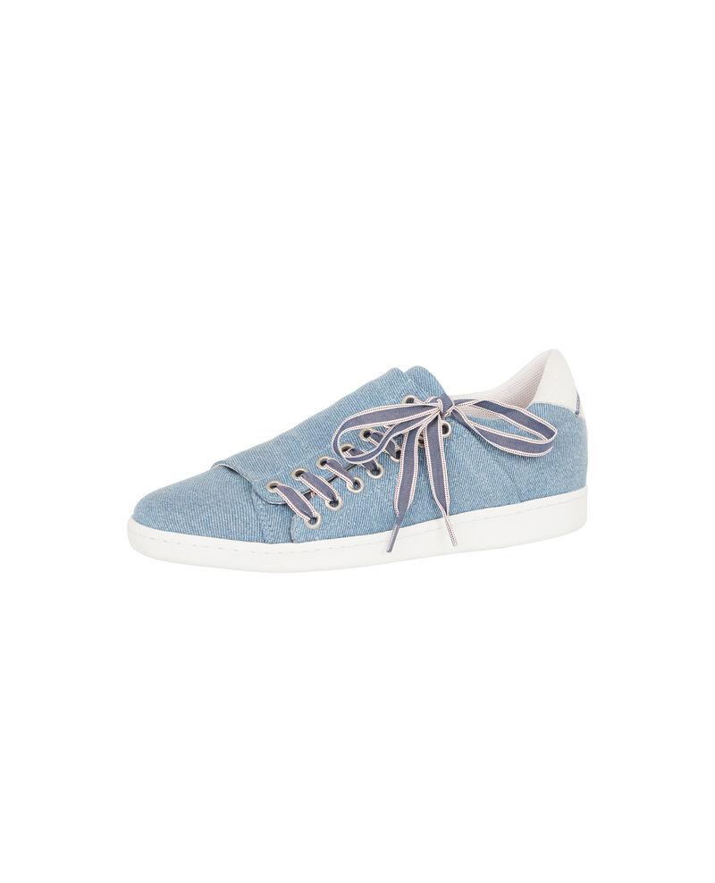 Sneakers slash en denim Blue jean Askenim