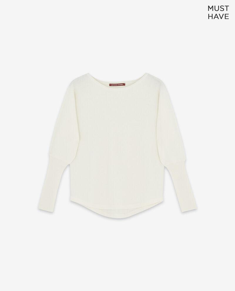 100% cashmere jumper Off white Delamour