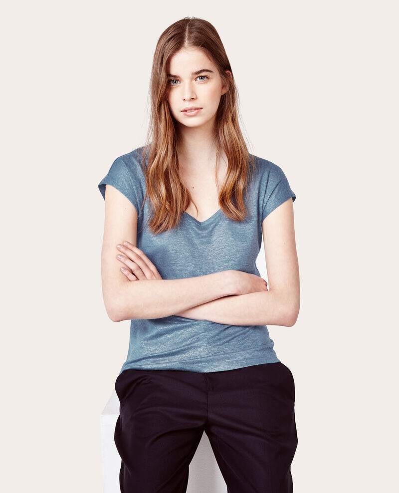 Camiseta de lino irisado Orage Arizona