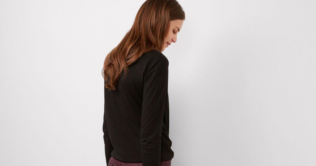 Beschichtete skinny jeans maroon brindille comptoir - Comptoir des cotonniers ch ...