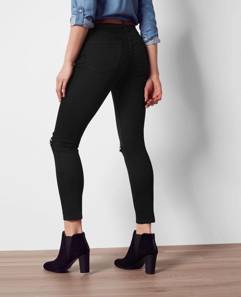 Jeans boyfriend Noir Chose
