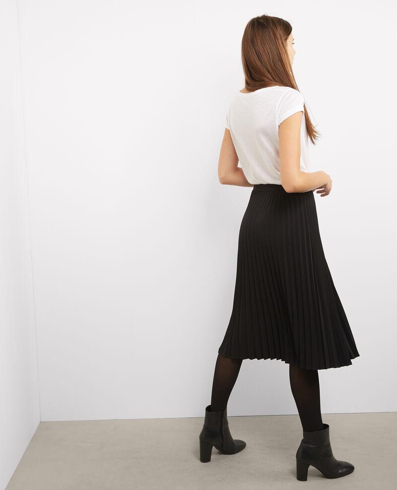 Jupe plissée Noir Bizac
