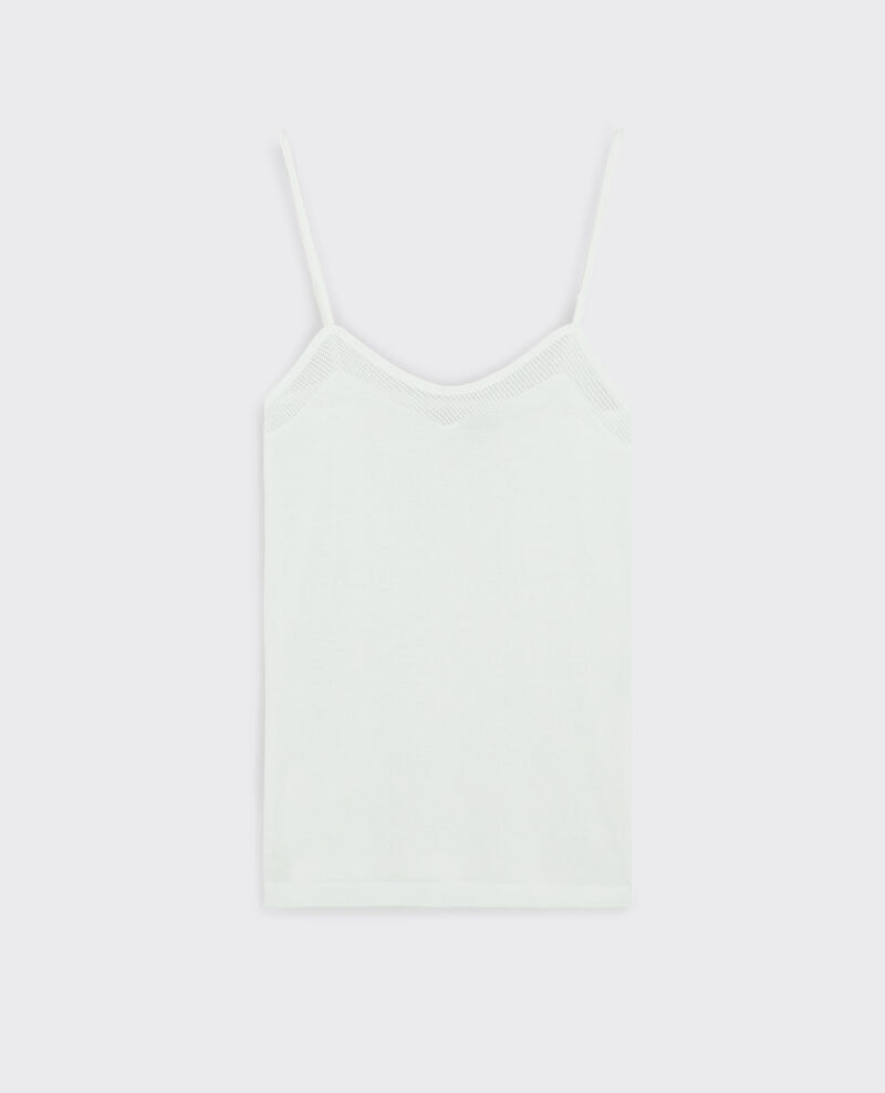 Jersey vest top Off white Cayenne