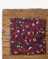 Gemustertes Tuch mit Crinkle-Effekt Poppies black Daccord