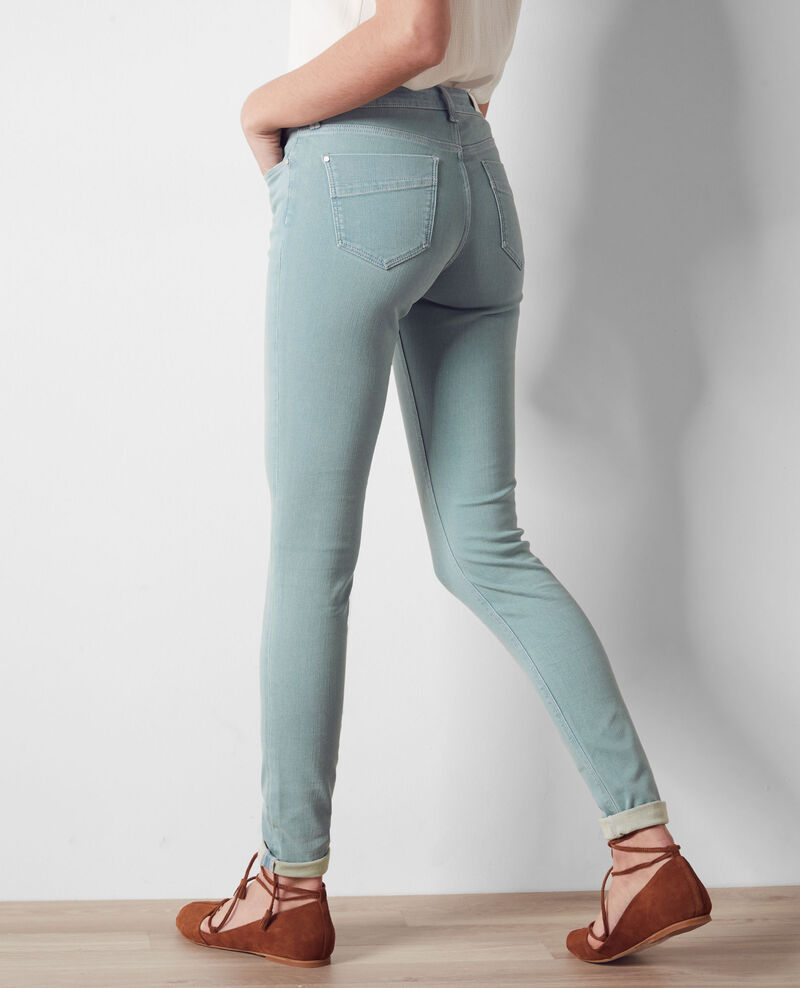 "Jeans skinny ""Jolie chérie"" Aegan blue Cabou"