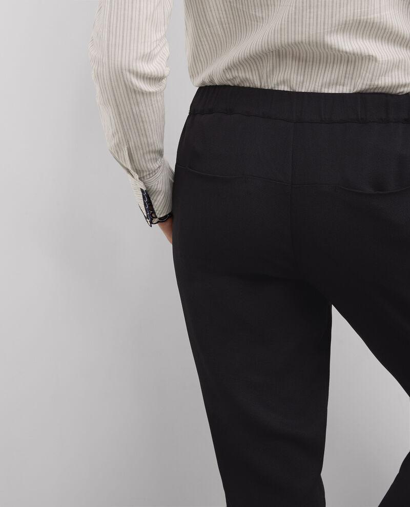 Pantalon fluide Noir Bastal