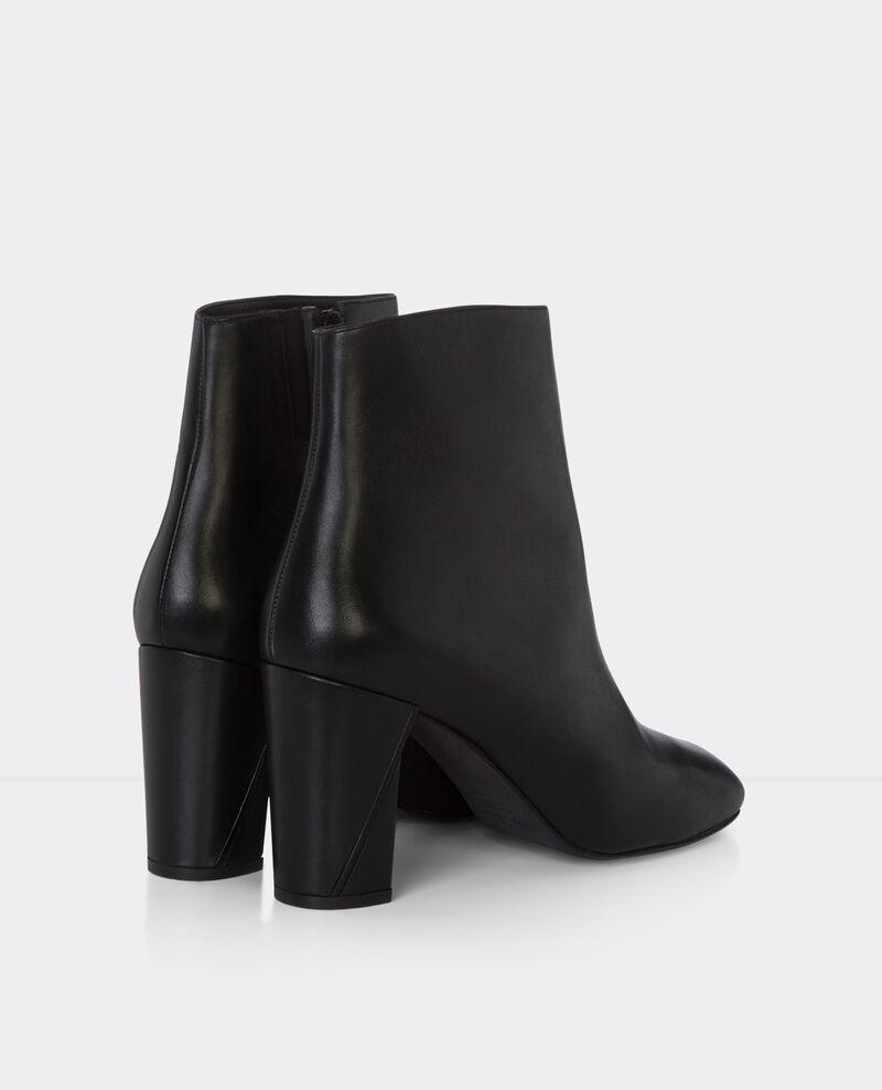 Botas de piel tacón alto Noir Berlin