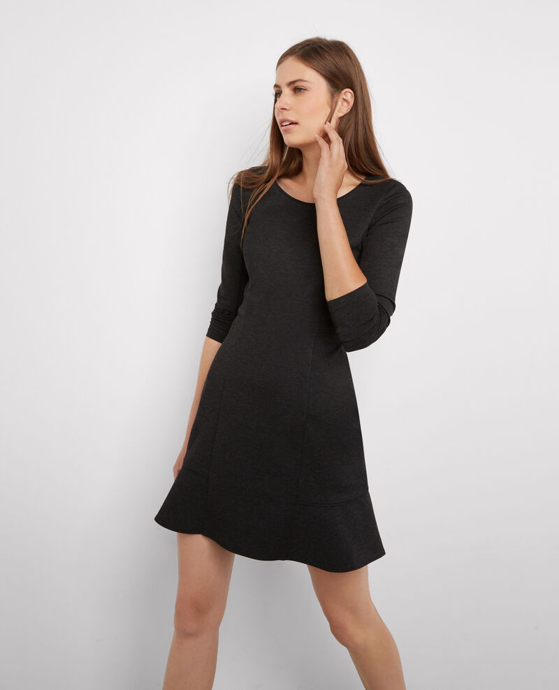 Fit & flare dress Gris chine Berlioz