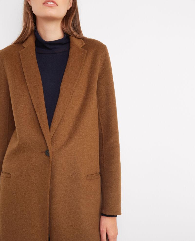 Manteau officier avec laine Dark safron Bexpresso