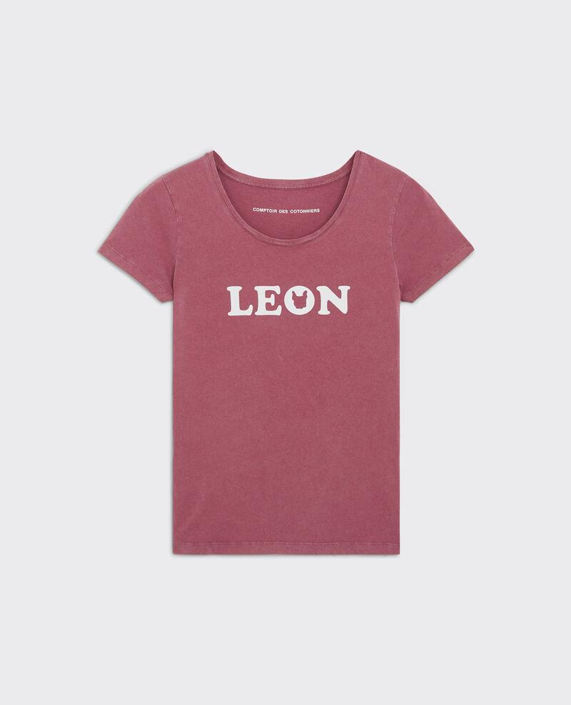 T-Shirt Léon Raspberry Chaloupe