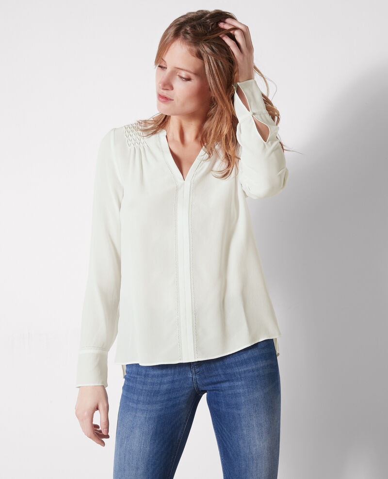 Blouse en soie  Off white Cinomi