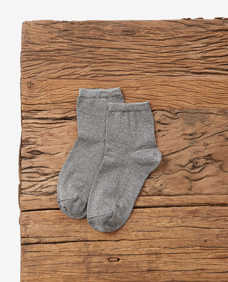 Sparkly socks Medium heather grey Daussette