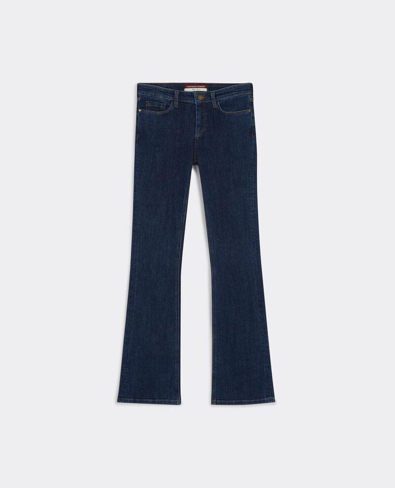 """Jeans flare """"Folie-douce"""" Stone blue Badilli"""