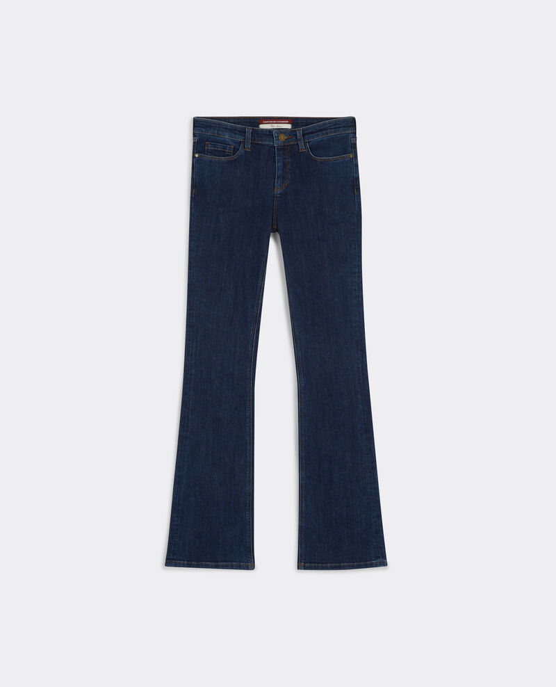"Jeans acampanados ""Folie-douce"" Stone blue Badilli"
