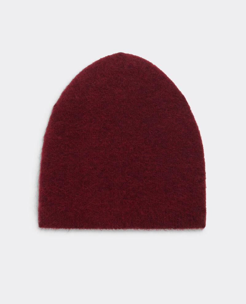 Boîte cadeau - écharpe et bonnet avec alpaga et broche Cardinal Bellebox