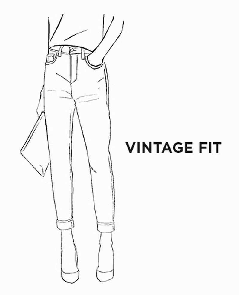 Jeans vintage fit Femme