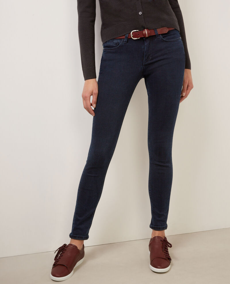 "Jeans skinny ""Jolie-chérie"" Light blue black Babou"