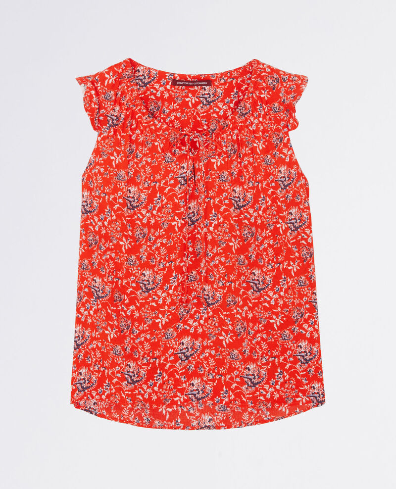 Top estampado Pondichery candy apple 9balboa