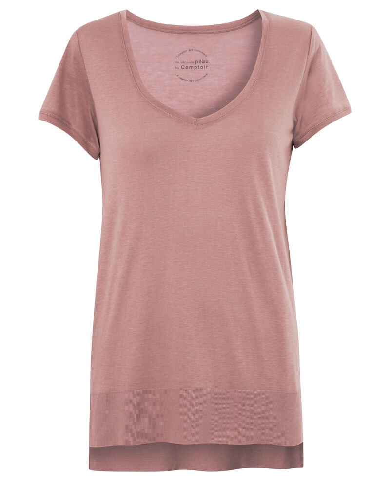T-Shirt - Ma seconde peau by Comptoir Canyon rose Asboro