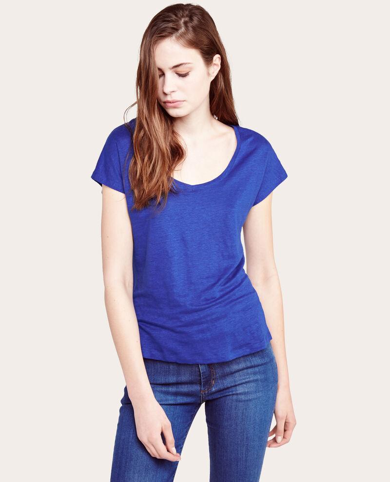 T-shirt en lin Majorelle Alabama