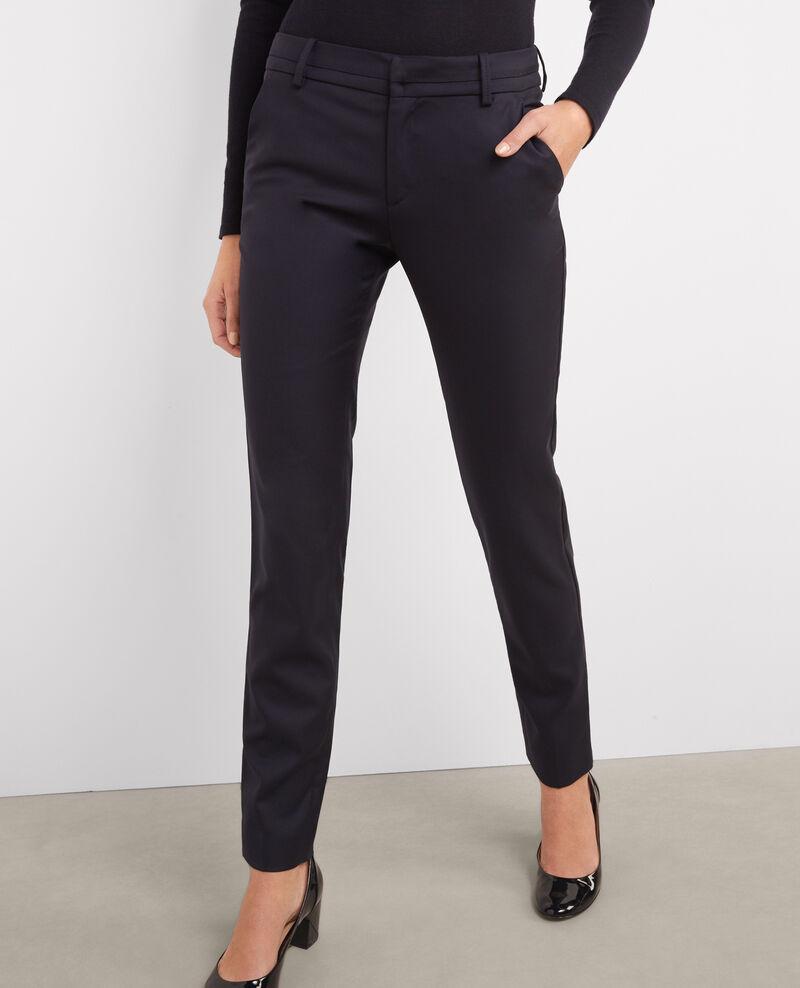 Pantalón de lana Dark navy Vrikala