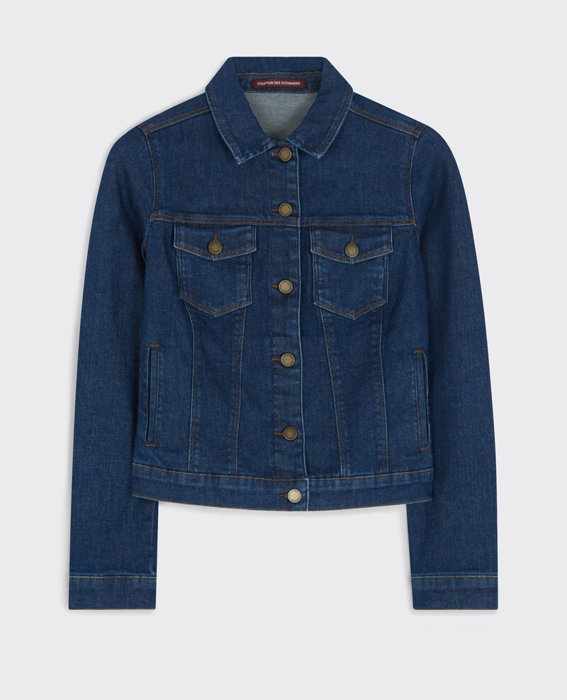 Denim jacket Blue denim Caledonie