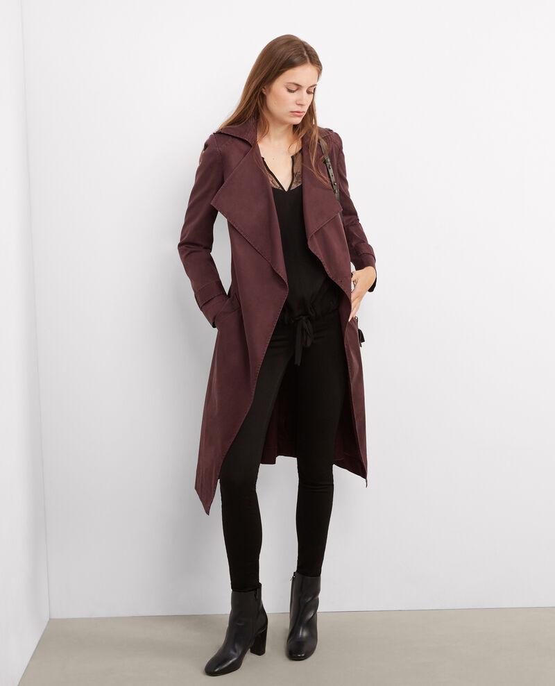 Blusa con añadidos de encaje Noir Balerie