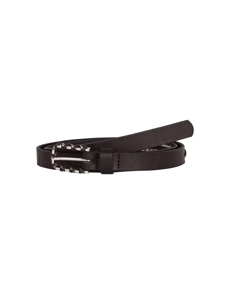 Cinturón fino de cuero Noir Aesthetic