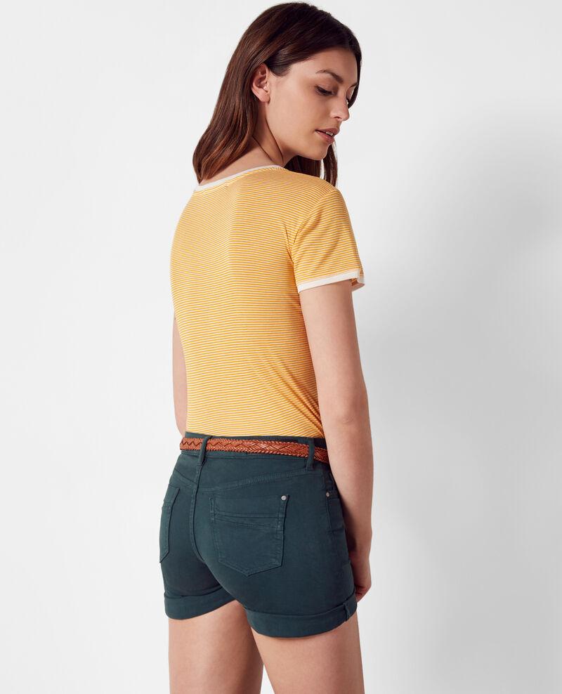 T-Shirt mit schmalen Streifen Crayola Caroquet