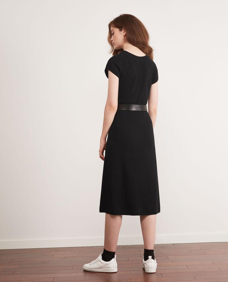 Vestido de punto sin costuras Noir Dema