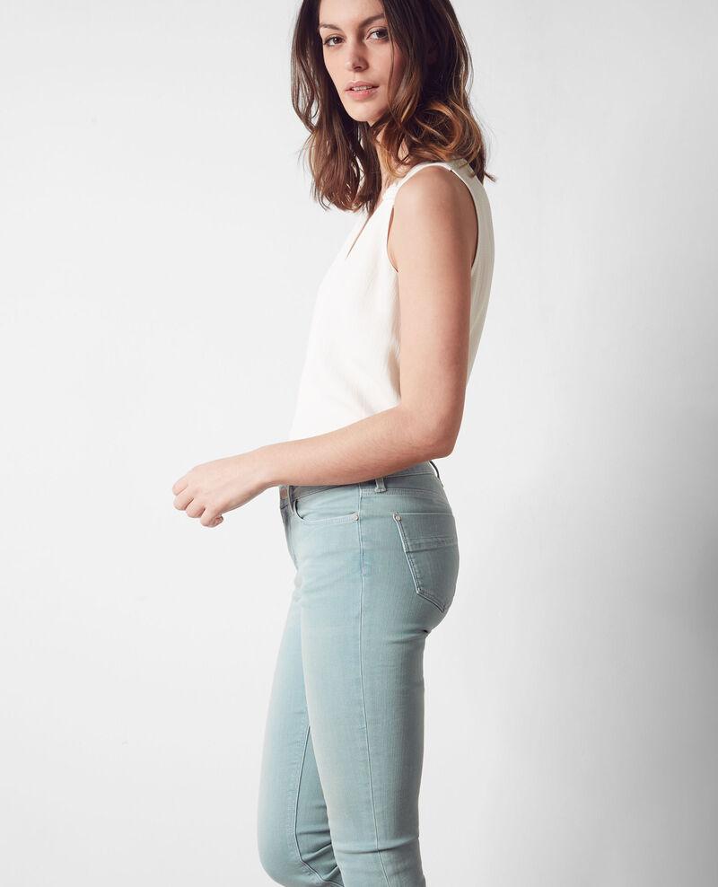 "Skinny-Jeans ""Jolie chérie"" Aegan blue Cabou"