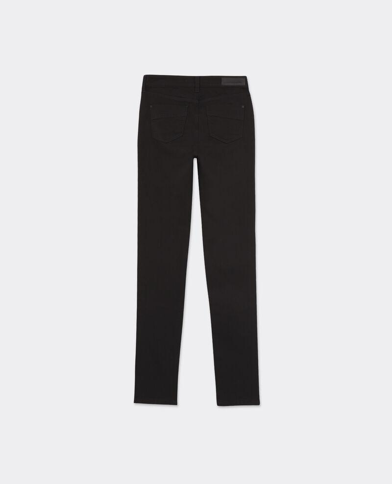 """Jeans slim de talle alto """"Jolie-Chérie"""" Noir Begonia"""
