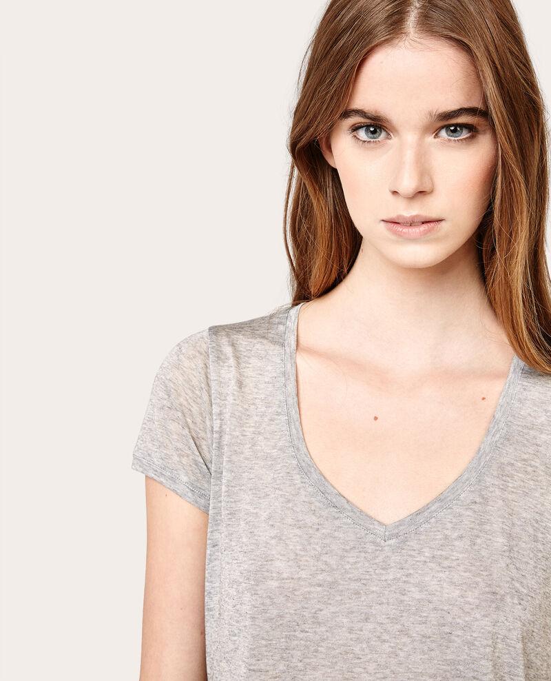 Camiseta manga corta Gris chine Asboro