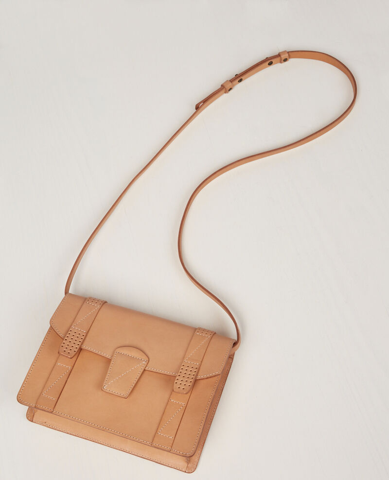Leather mini-satchel Lin Cecile
