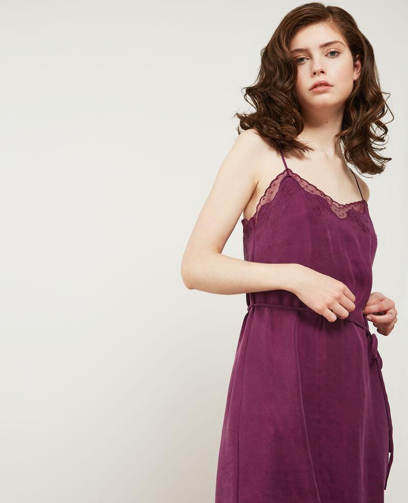 Camisole slip dress Dark peony Danuit