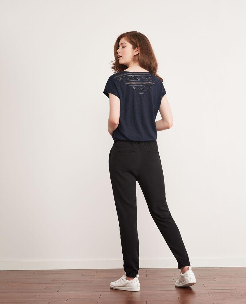 Loose-fit trousers Noir Chauvin