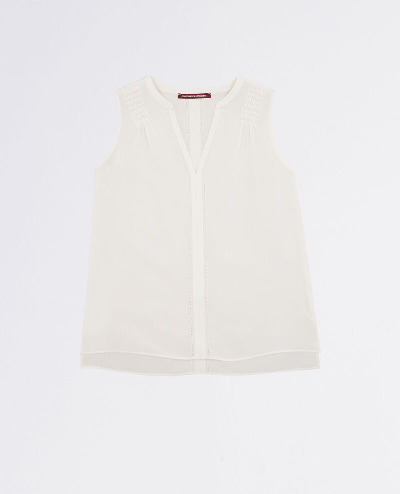 Silk top Off white Canomi