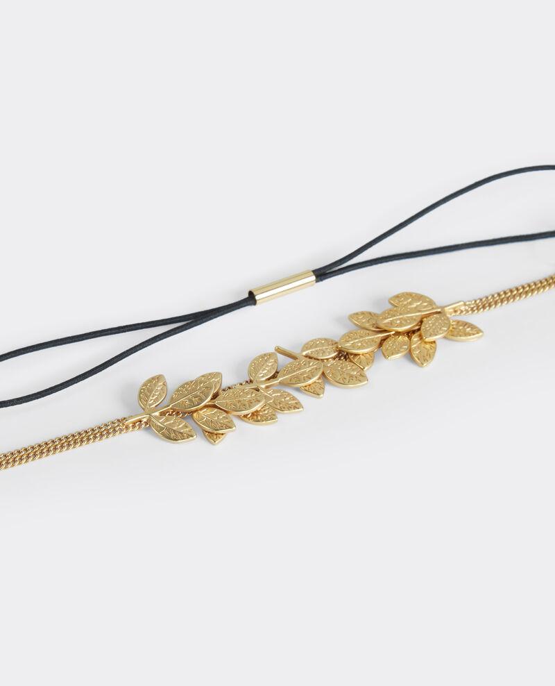 Joya para el pelo Gold Beads