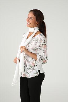 Satijnen trui met bloemenprint, Blush
